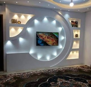 Diy Gypsum Gypsum Board Preview 108 Tv Wall Design From Gypsum And Gypsum Bord Wall Tv Unit Design Wall Unit Designs Tv Wall Design