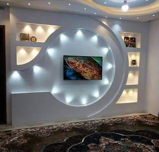 Diy Gypsum Gypsum Board Preview 108 Tv Wall Design From Gypsum And Gypsum Bord Wall Tv Unit Design Wall Unit Designs Tv Wall Design