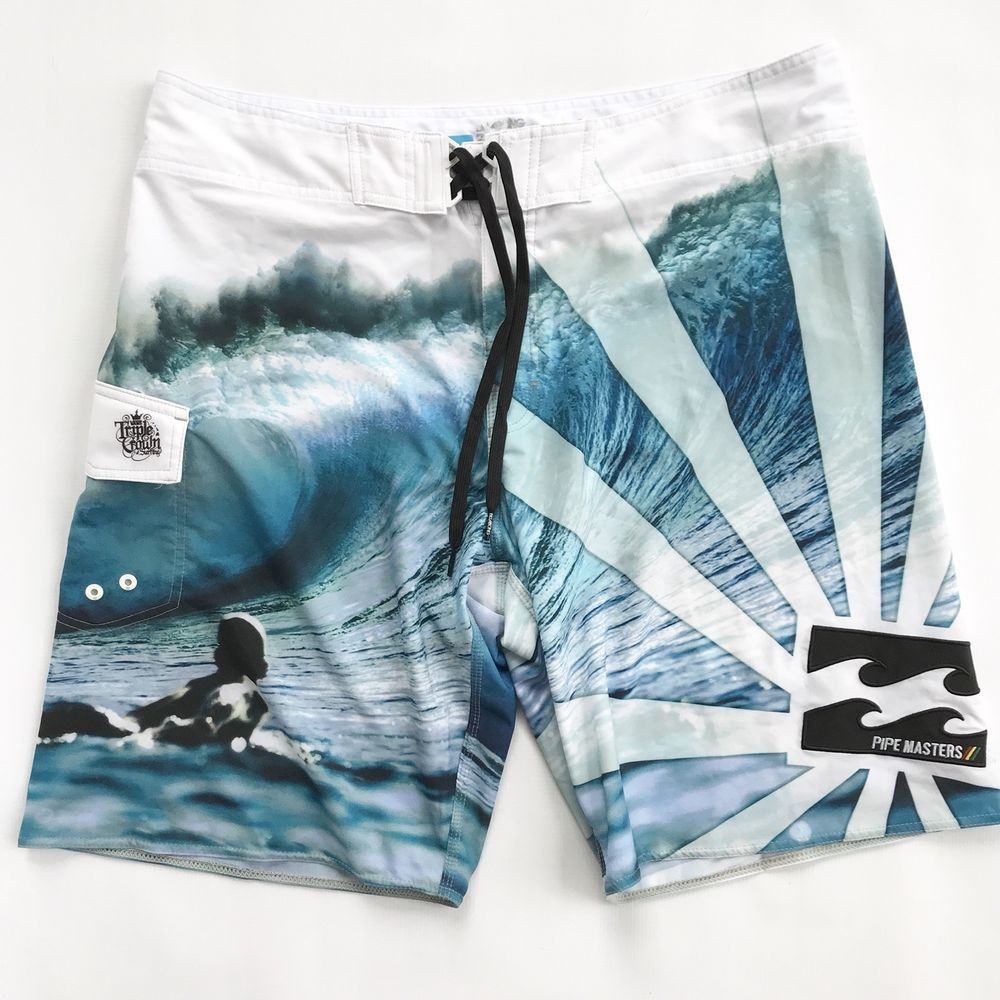 f946278768 ANDY IRONS Billabong Rare Platinum PIPE MASTERS PX3 Stretch Board ...