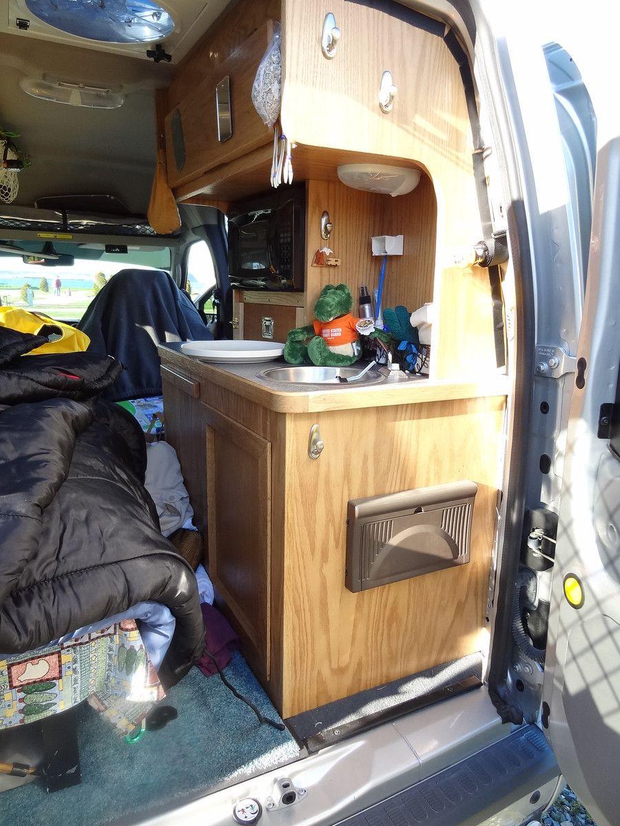 ford transit connect camper conversion alaskandave. Black Bedroom Furniture Sets. Home Design Ideas