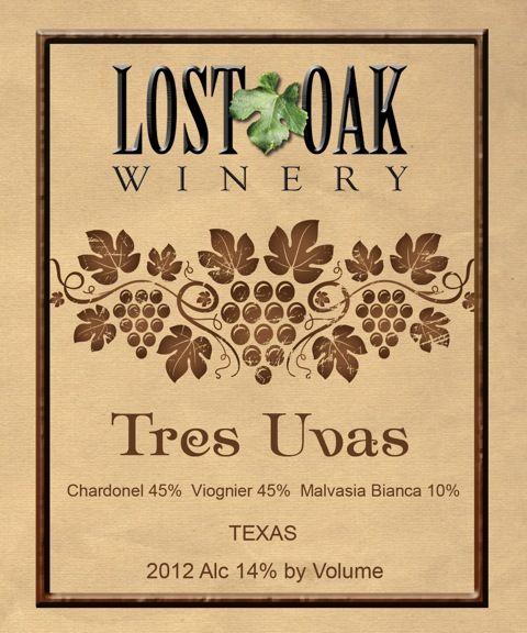 Lost Oak Winery - Tres Uvas