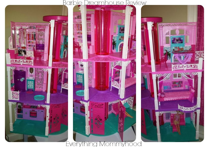Beautiful 2013 Barbie Dream House Review #BarbieIsMoving