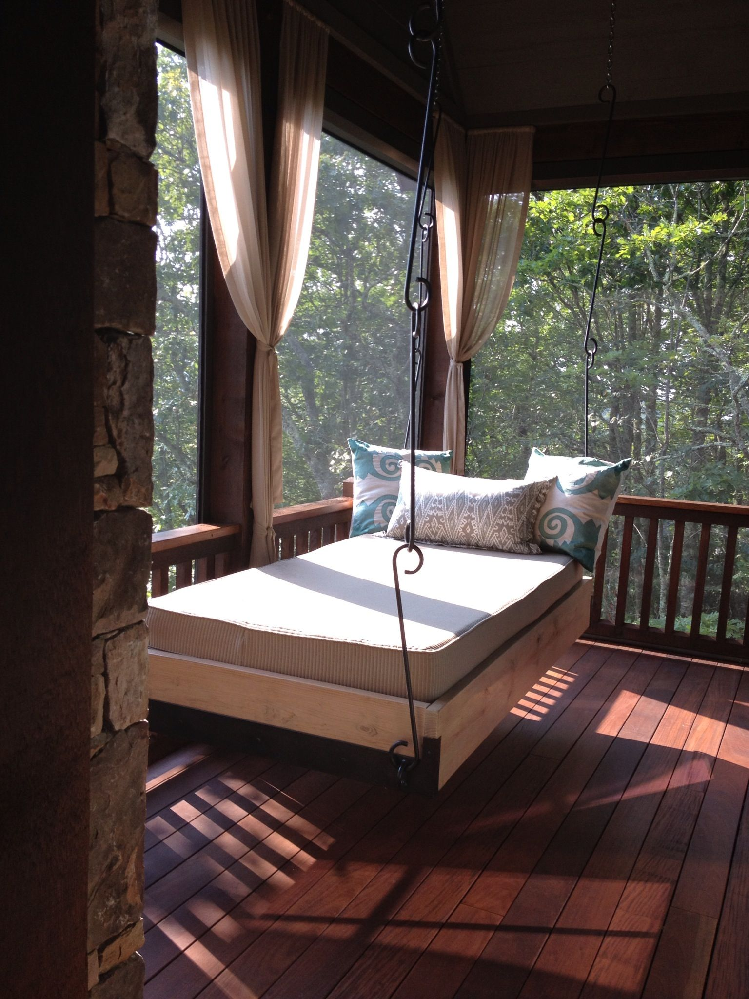 My new outdoor bed | Outdoor bed, Outdoor rooms, Outdoor ... on My Backyard Living id=78235
