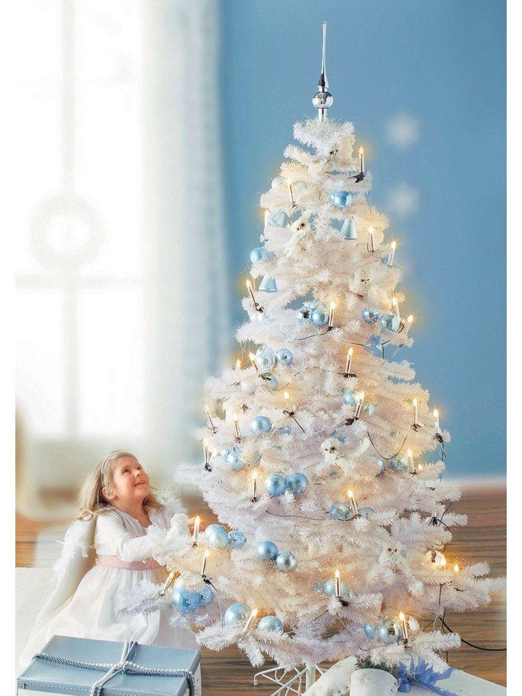 Weihnachtsdeko Bei Heine.Weißer Weihnachtsbaum Weiß Weihnachtsdeko Im Wohnen Shop Auf Heine