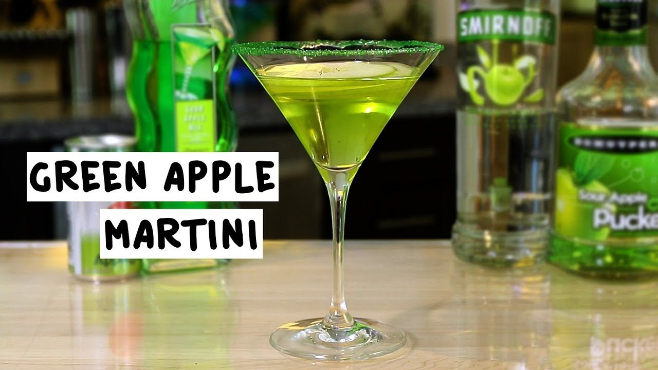 what to mix with green apple vodka