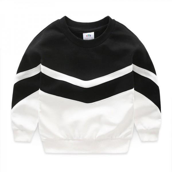4af52d495 Stylish Color Blocking Long-sleeve Pullover for Boy