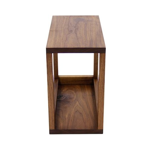 111 Small Utility Table Walnut Table Small Walnut