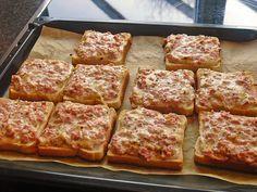 Pizzatoast #spinatlasagne