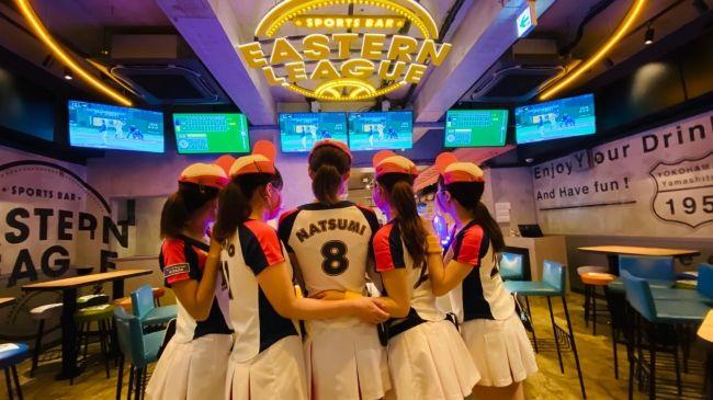 """Photo of 【野球ファン必見!】""""ビールの売り子""""に会えるスタジアムBAR「イースタンリーグ横浜店」が熱かった。"""