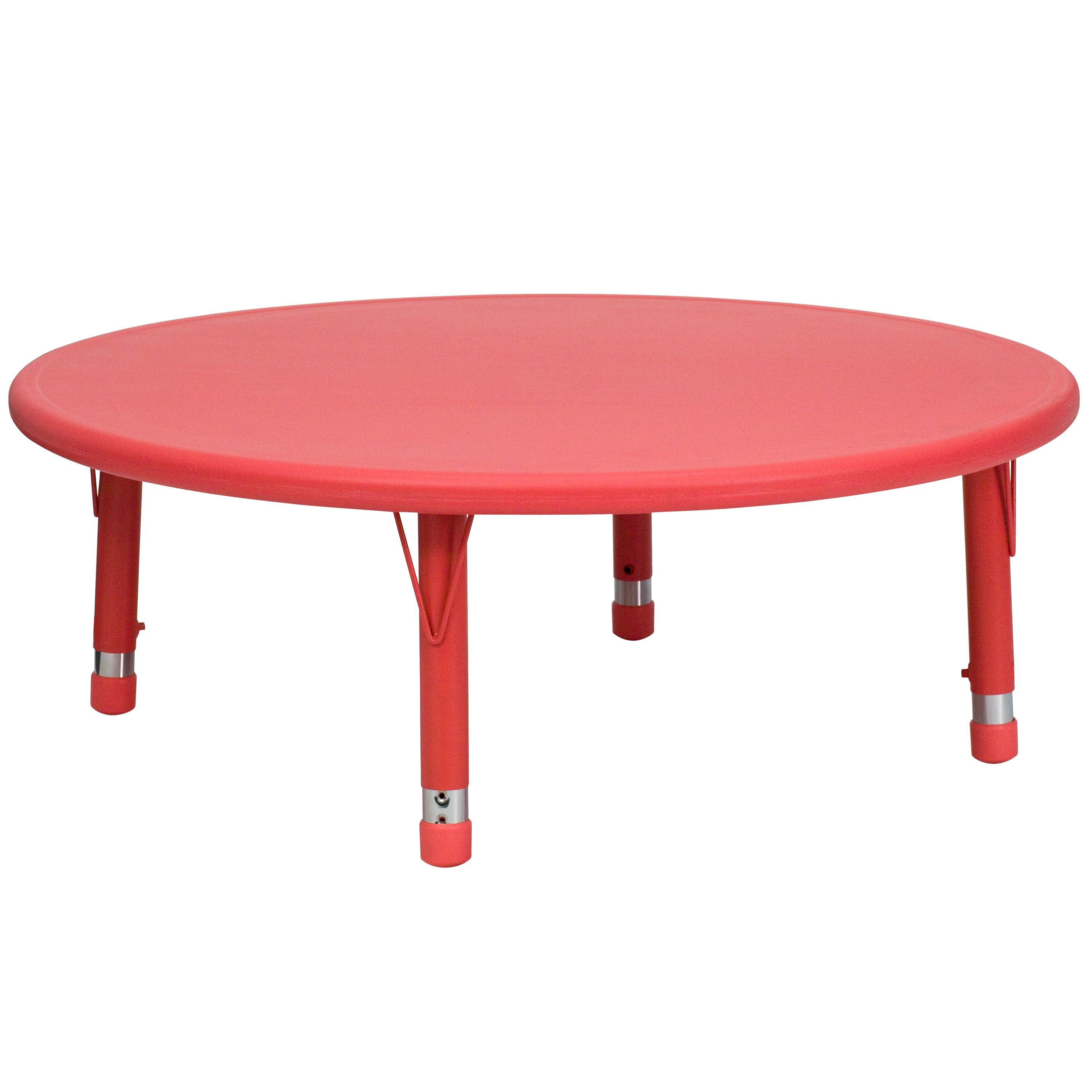 Round Plastic Tables 45