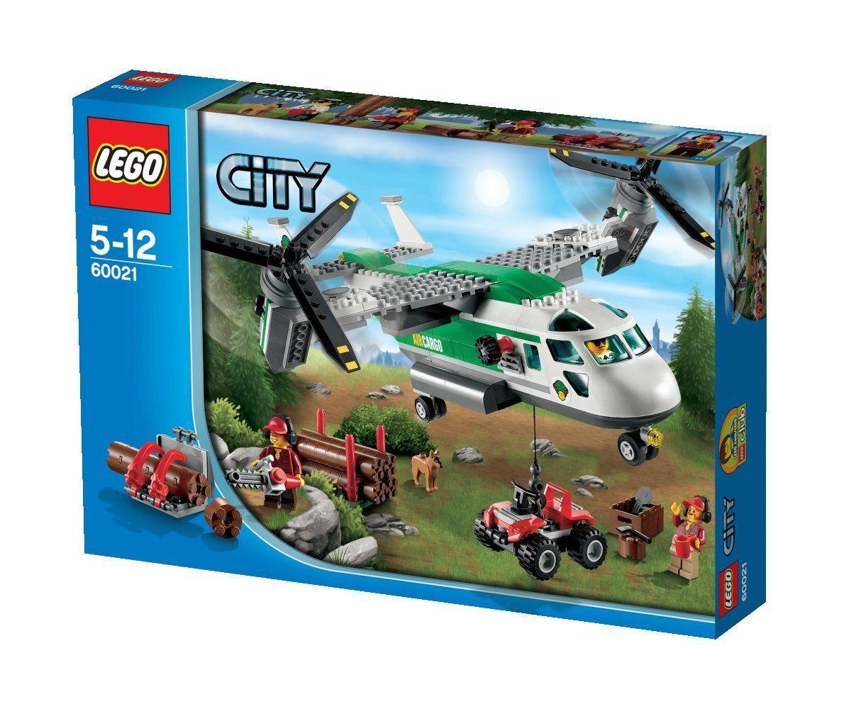 Lego City Airport 60021 Cargo Heliplane Amazoncouk Toys Games