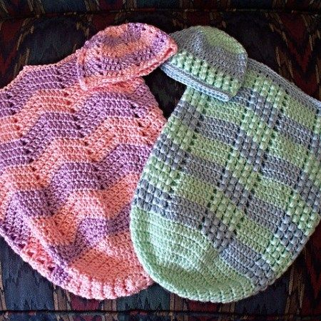 Free Crochet Baby Buntings, Cocoons, & Sleep Sack Patterns   Para ...
