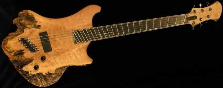 halpa myytävänä huippumuoti 50% alennus Novax Expression Semi-hollow Lo-A 7-String.   sound   Guitar ...
