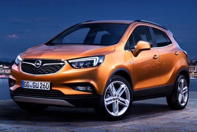 2017 Opel Mokka X Design Opel Mokka Suv Opel
