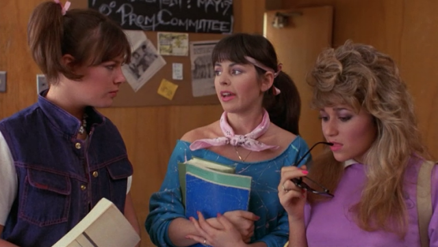 girls on film: fashion in film: valley girl (1983)   gag me with a
