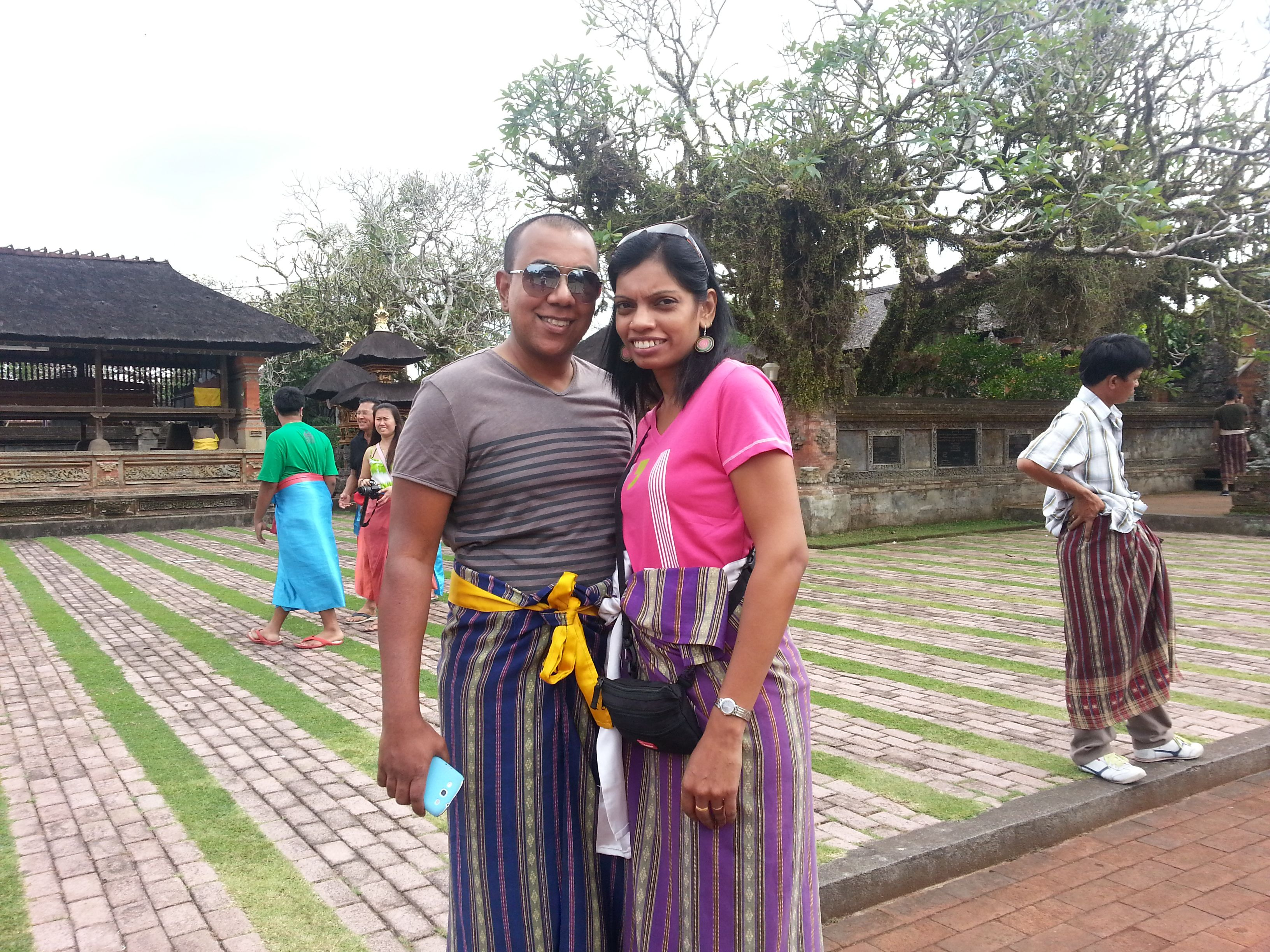 Official Dress Code Upon Entering Batuan Temple Bali Trip 2012
