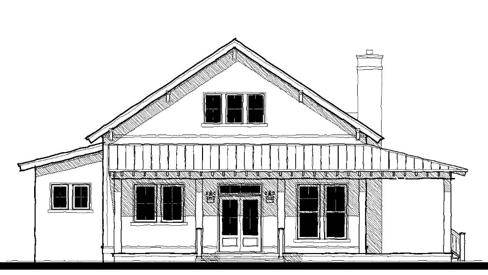 Whisper Creek Cottage House Plan Design from Allison Ramsey Architects
