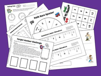 Math Stations for Middle Grades (Grades 3 through 8) eBook from Laura Candler - strategies and printables for implementing math stations and math centers $12.95