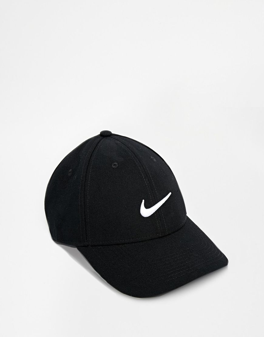 all black nike cap