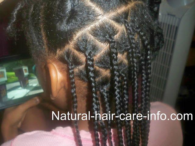 Box Braid Tutorial Natural Hair Styles Short Box Braids