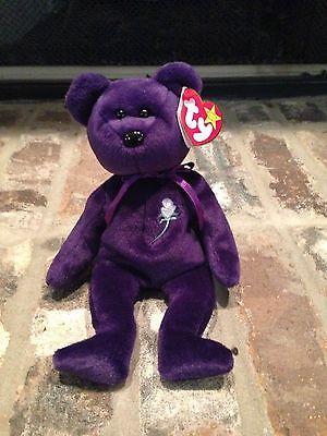 c4237be7407 Original Beanie Babies · Stitching · Play · Ty Beanie · AUTHENTIC-1997- PRINCESS-Handmade-in-China-Rare-with-