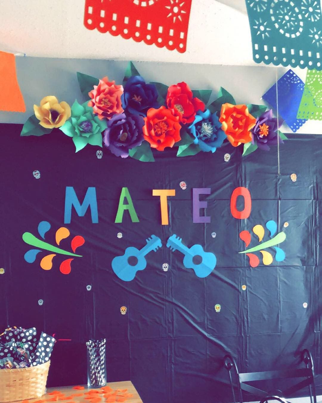 Coco Themed Birthday Party Decorations Diy Birthday Party