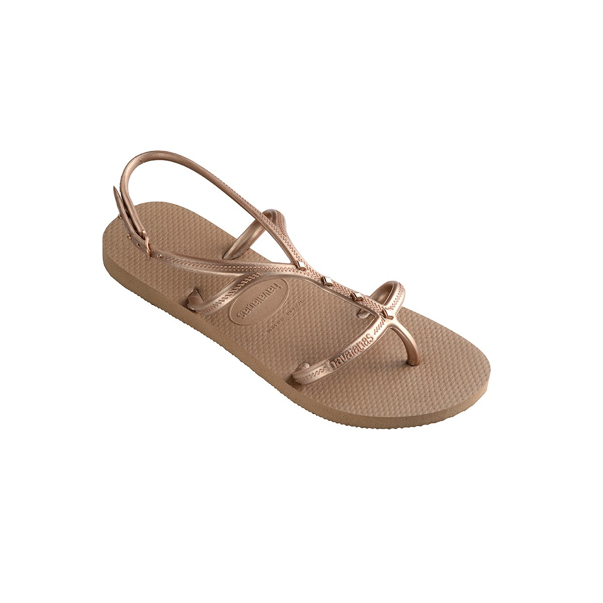 bf3aa76d0364 Havaianas Allure Maxi Sandal Rose Gold - 11 12