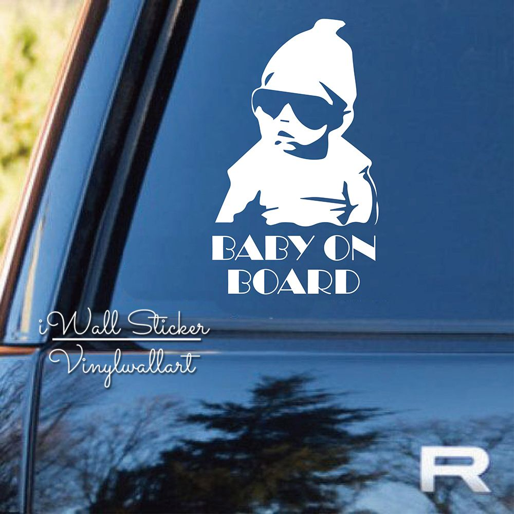 Baby On Board Car Sticker Cute Baby On Board Quotes Car Decal DIY - How to make vinyl car decals at home