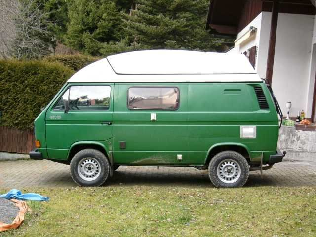 Thesamba Com View Topic Syncro Panel Van Photos Van Campervan Volkswagen
