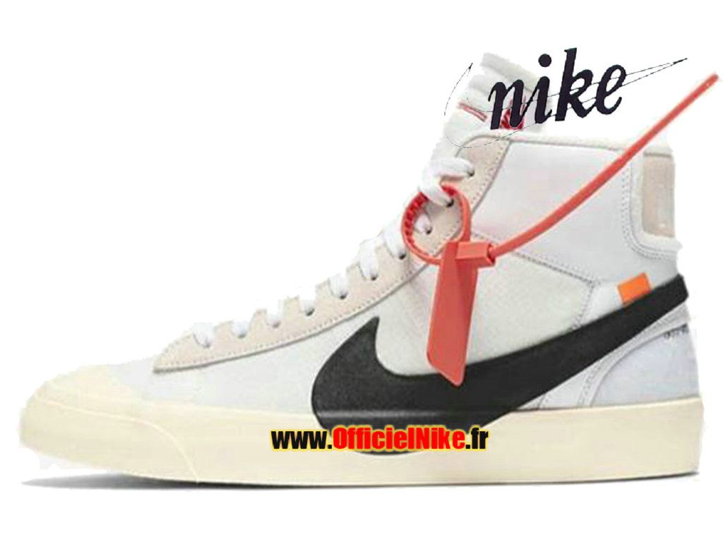 Homme Chaussures Off White x Nike Blazer Mid 10X AA3832-100