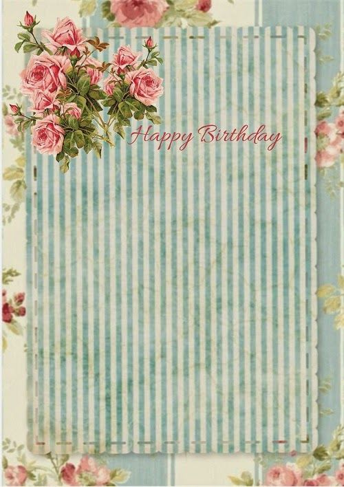 Free-download card template glendau0027s world Pinterest Card - birthday invitation card templates free download