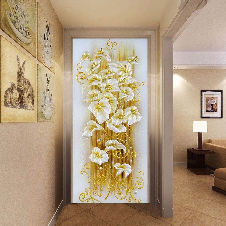 5D Cross Stitch Rhinestone Embroidery Painting Home Decor Diy Craft ...