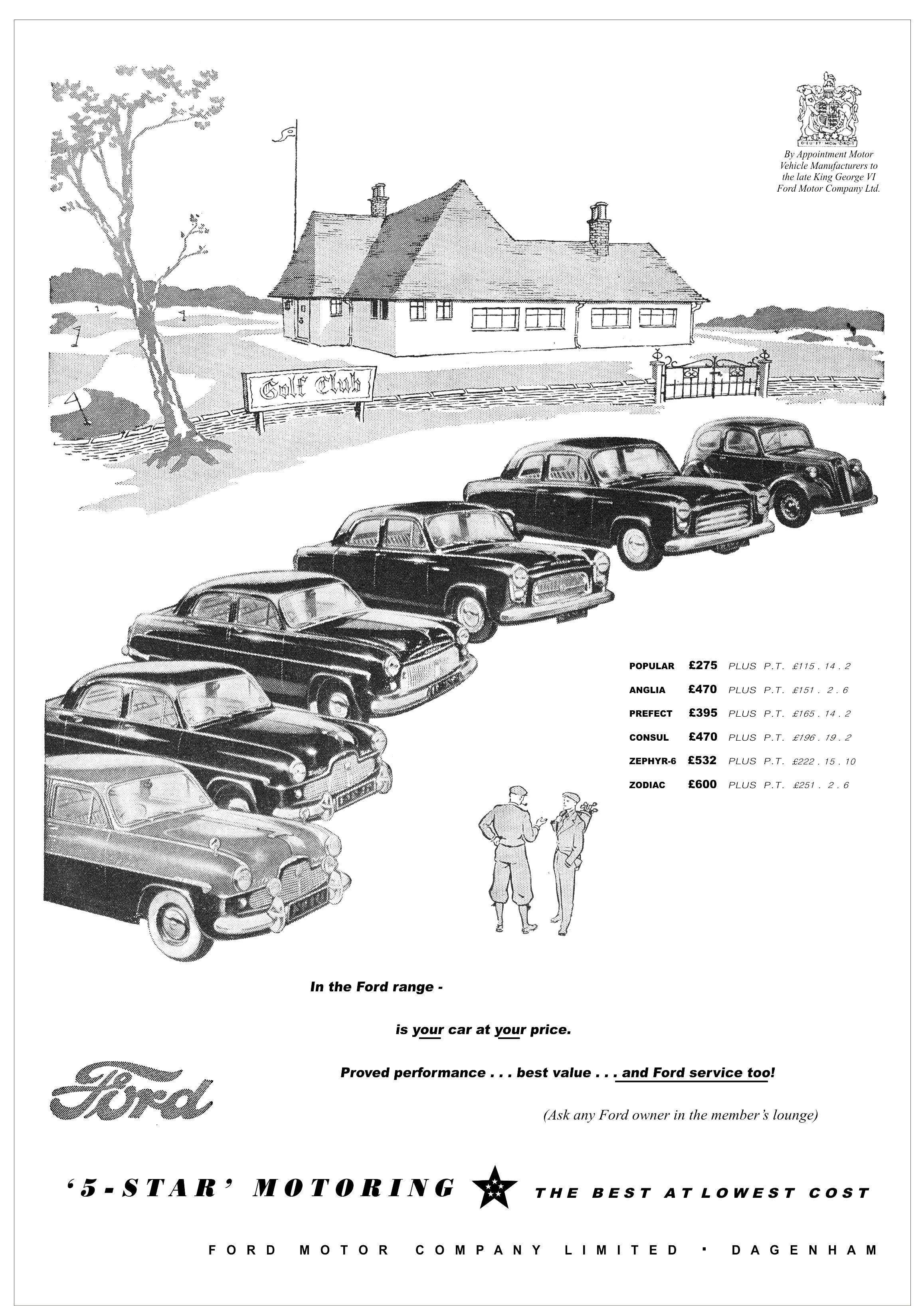 Ford Autocar Motor Car Advert