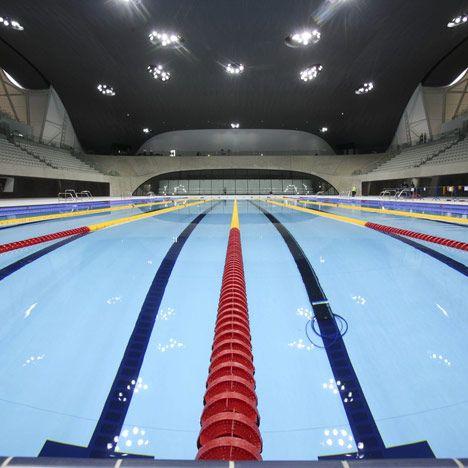 Olympic Swimming · London Aquatics Centre 2012 By Zaha Hadid