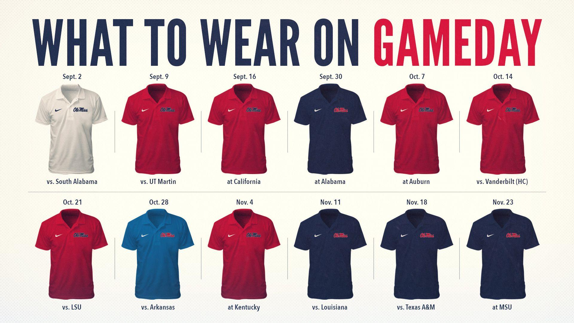 What to Wear Ole miss, Alabama vs, Ole miss football