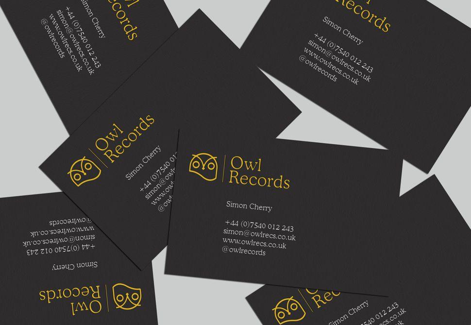 Owl Records - Simon Cherry Design | Stationery | Pinterest | Owl
