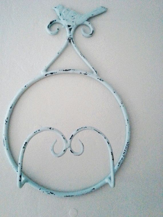 Vintage Metal Plate Rack Wall Hanger Shabby by LoriLovesVintage $17.95 & Vintage Metal Plate Rack Wall Hanger Shabby by LoriLovesVintage ...