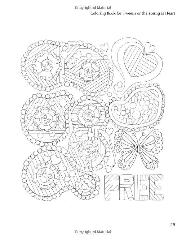 Amazon.com: Coloring Book for Tweens or the Young at Heart ...