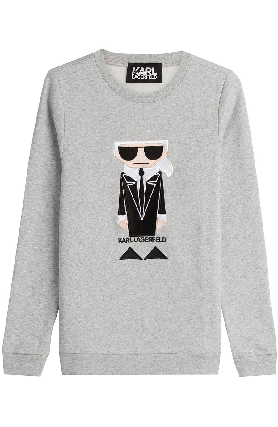 KARL LAGERFELD Kocktail Karl Cotton Sweatshirt. #karllagerfeld #cloth #sweatshirts