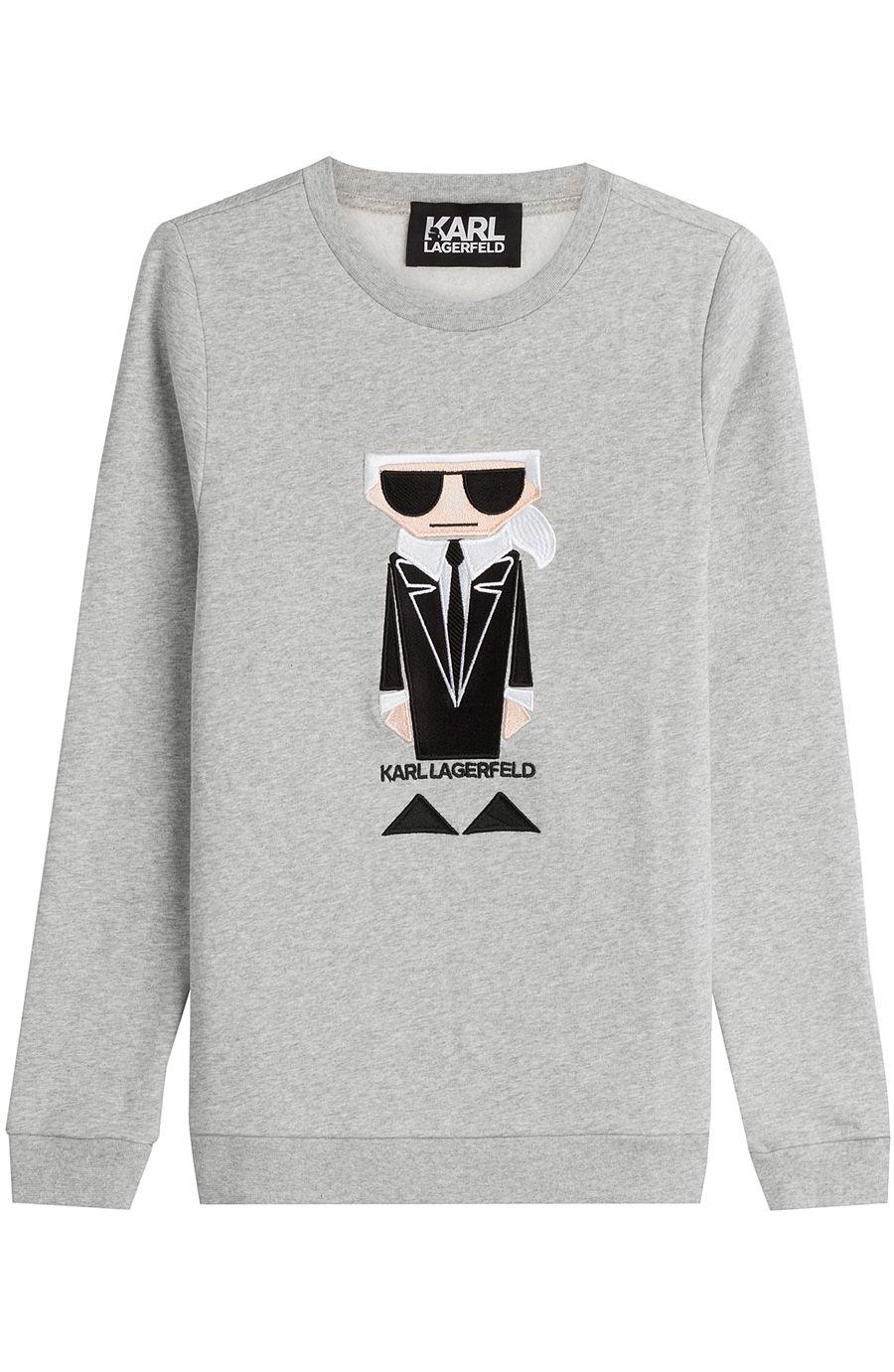 KARL LAGERFELD Kocktail Karl Cotton Sweatshirt.  karllagerfeld  cloth   sweatshirts 6e86f426564