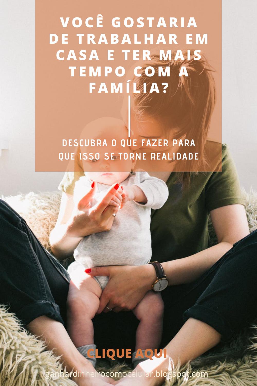 COMO GANHAR DINHEIRO EM CASA PELO CELULAR