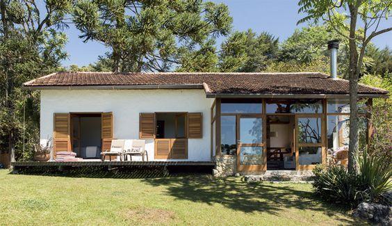 Casa De Campo Estilo Si Ples Casas De Campo Simples Casa De Campo E Casas