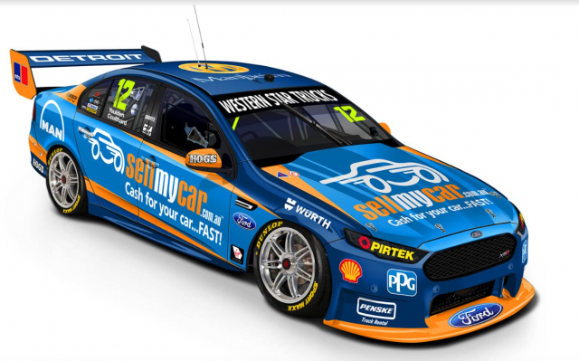 Coulthard S Livery For The Gc600 In 2020 Super Cars Star Test V8 Supercars