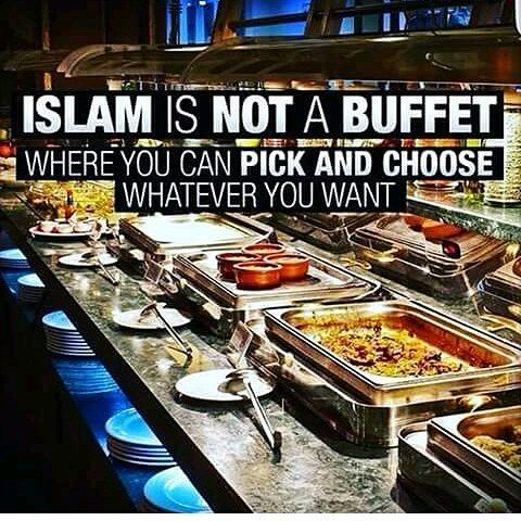 Being a Muslim isn't a hobby. It is a heart change followed by a lifestyle change