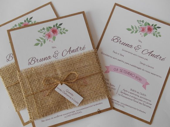 Convite de casamento rstico j01 15 anos wedding and invitation ideas convite de casamento rstico j01 stopboris Gallery