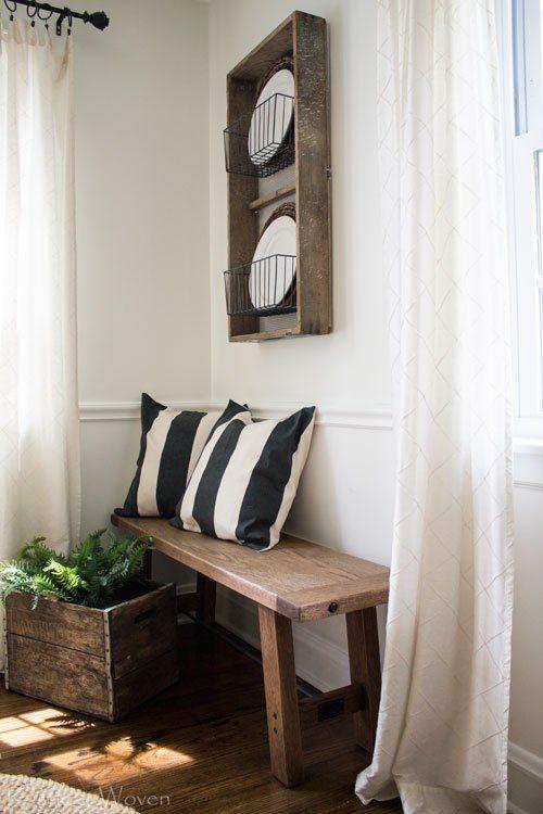 House · Rustic plate rack ... & In Case You Were Wonderingu2026 | Plate racks Neutral and Bench