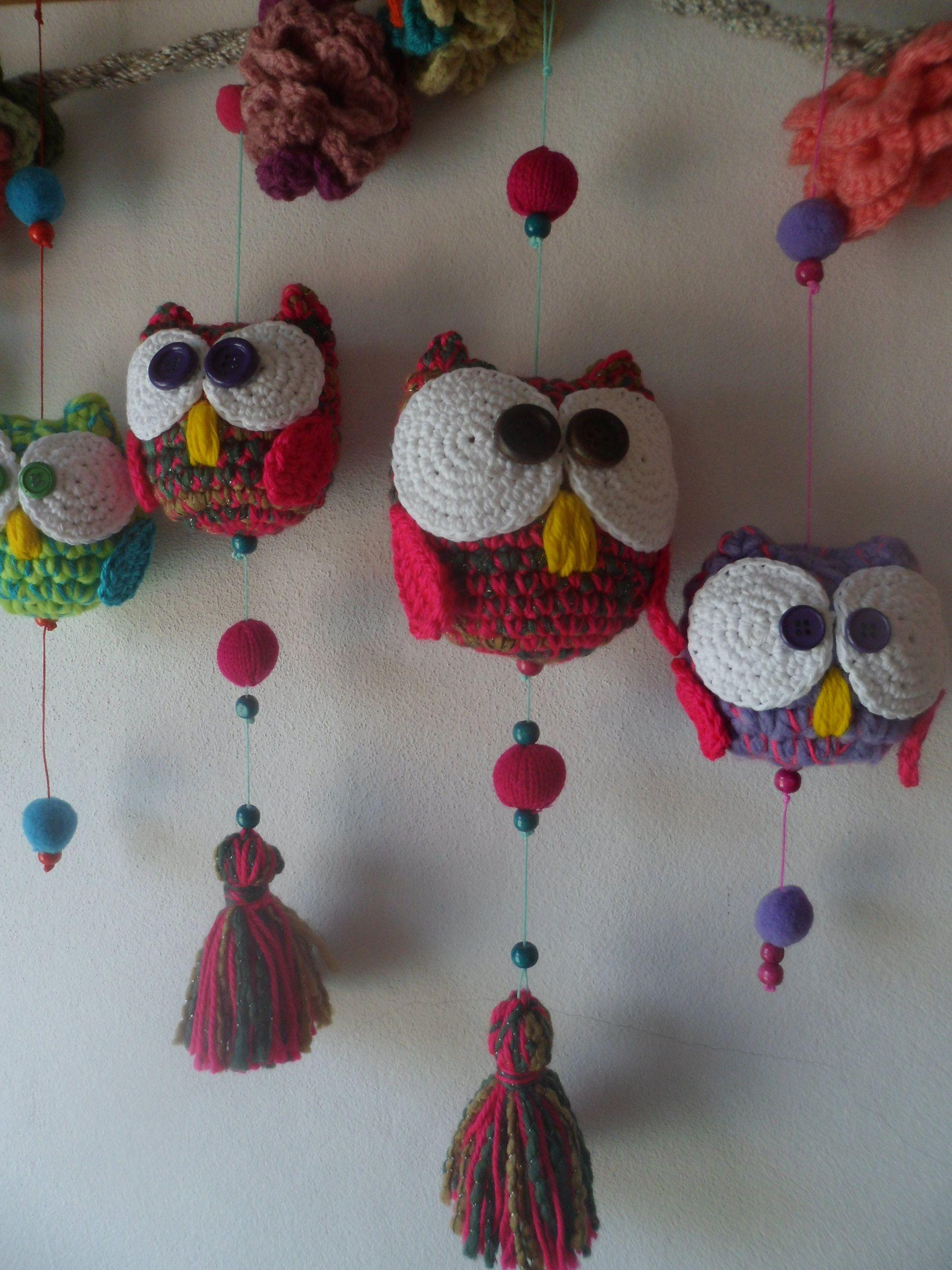 Moviles buho - Crochet - Tejidos de Punto - 516058 | Crochet ...