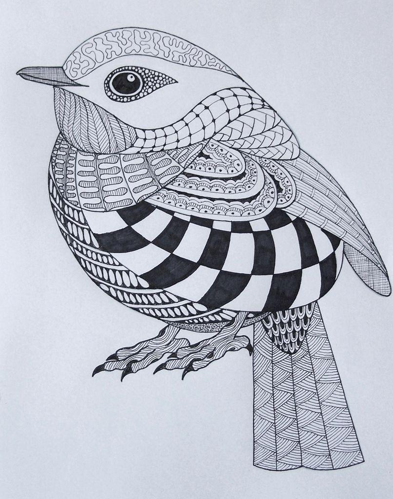 Inside My Sketchbook Friday Link Up Zentangle Drawings