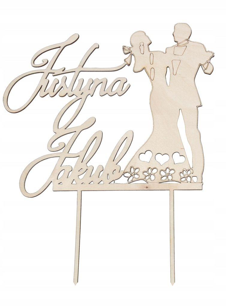 Prezent Kuferek Na Koperty Decoupage Napis Slub 7635992478 Oficjalne Archiwum Allegro Party Topper Wedding Cake Toppers Place Card Holders