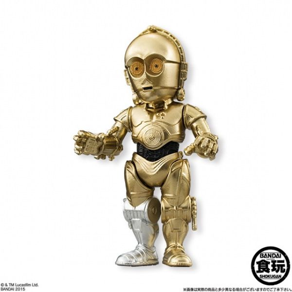 首部曲角色登場!FW Starwars Converge 星際大戰角色盒玩 第二彈 | 玩具人Toy People News